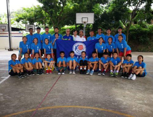 出征2019年全州15岁以下少年篮球锦标赛,亚庇篮总举行授旗礼